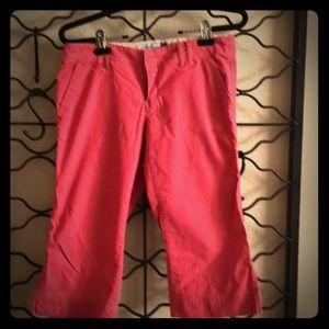Old Navy Ultra low waist stretch Capri pants